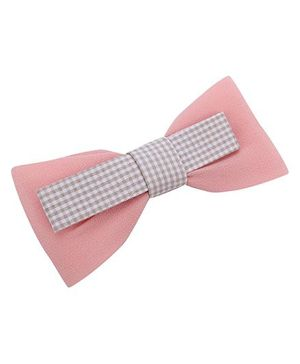 Anaira Alligator Clip with Bow - Pink