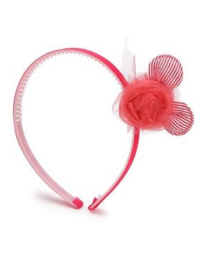 Anaira Bunny Hair Band - Cherry Red