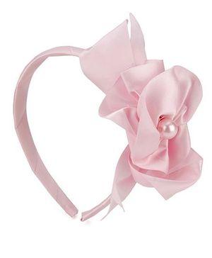 Anaira Hair Band Floral Design - Pink