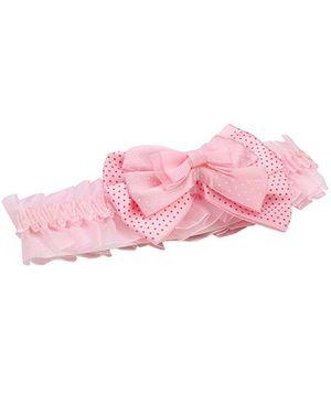Anaira Headband With Bow - Pink