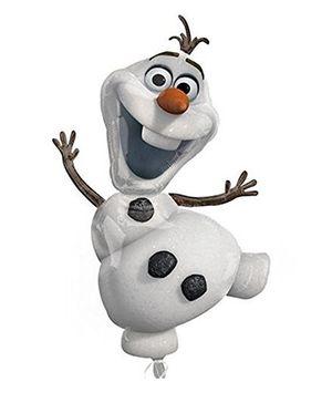 Disney Frozen Olaf The Snowman Balloon - White