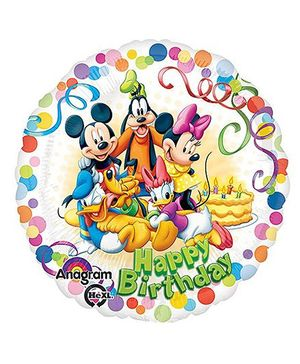 Disney Mickey And Friends Party Standard HX S60 Balloon - Multicolor