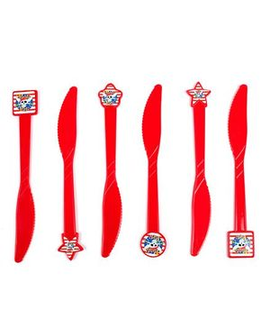 Funcart Pirate Party Theme Knife - Pack of 6