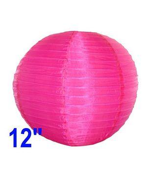 Funcart Silk Lantern - Dark Pink