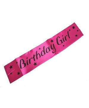 Funcart Birthday Girl Sash - Pink