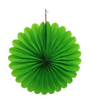 Funcart Paper Fan - Green
