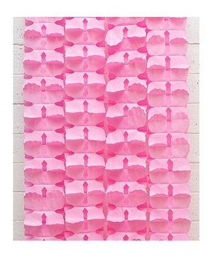 Funcart Honeycomb Flower Garland - Light pink