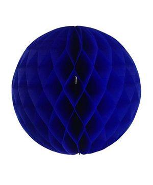 Funcart Honeycomb Pom Balls - Navy Blue
