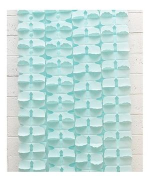 Funcart Honeycomb Flower Garland - Light Blue