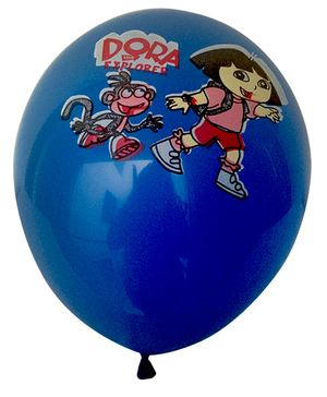 Funcart Dora Colorful Balloons - Pack of 5