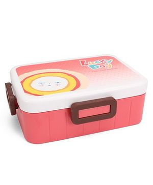 Lunch Box Lucky Day Print - Red