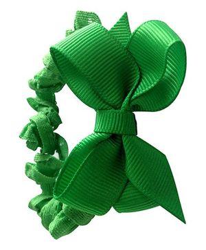NeedyBee Headband With Bow - Jade Green