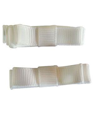 NeedyBee Double Deck Clip - White