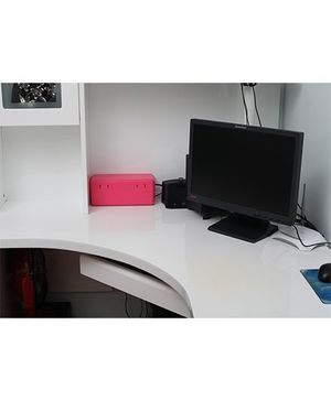 Blossoms Electric Cable Organiser And Storage Box - Pink
