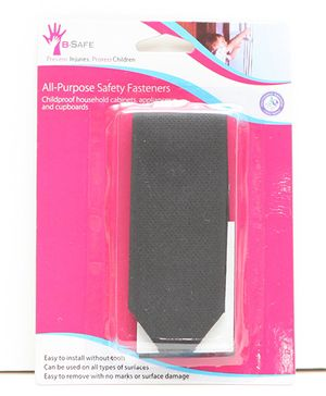 B-Safe All Purpose Safety Fastener Velcro - Black
