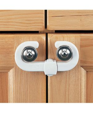 B-Safe C Cabinet Latch - White