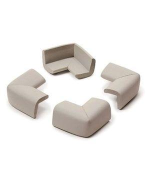 B-Safe Corner Cushion Grey - Pack Of 4