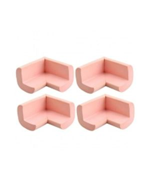 B-Safe Foam Corner Protectors Pink - Pack Of 4