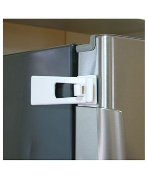 B-Safe Refrigerator Latch - White