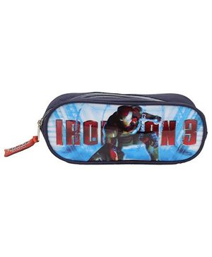 Iron Man 3 Pencil Pouch - Blue