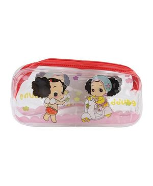 Multiutility Pencil Pouch - Red