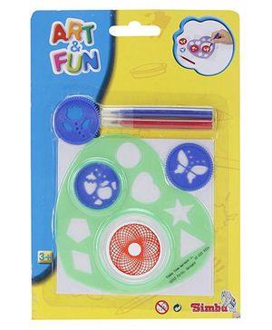 Simba Art & Fun Spiral Art 2-Asst