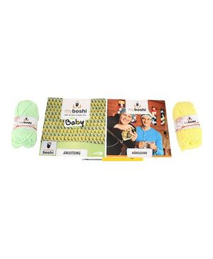 Simba Myboshi Baby Yamamogli Knitting Set - Yellow And Green