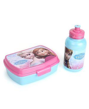 Disney Frozen Lunch Box Set - Pink Blue