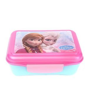 Disney Frozen Elite Lunch Box With Divider - Pink And Blue
