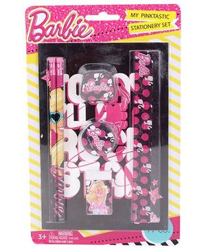 Barbie Stationery Set -  7 Pieces