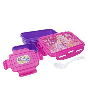 Barbie Secret Door Print Lunch Box - Pink
