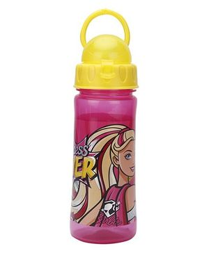 Barbie Princess Power Water Bottle Pink - 500 ml
