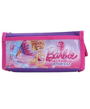 Barbie Mermaid Pencil Pouch - Purple