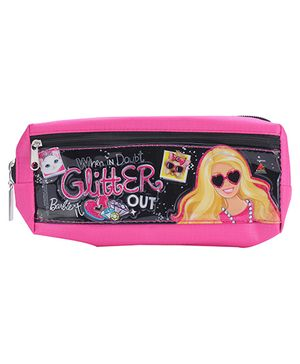 Barbie Pouch - Black And Pink