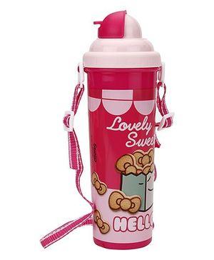 Hello Kitty Water Bottle Pink - 700 ml