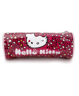 Hello Kitty Pencil Pouch - Dark Pink