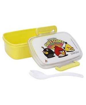 Angry Birds Classic Lunch Box - Yellow And White