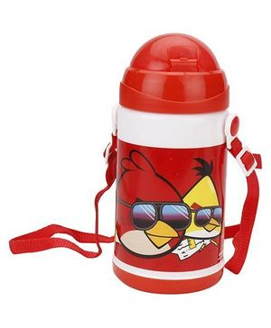 Angry Bird Water Bottle REd - 480 ml