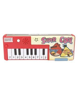 Angry Birds With Piano Print - Red