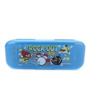 Angry Birds Pencil Box - Blue