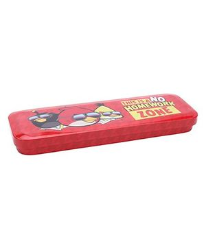 Angry Birds Pencil Box - Red