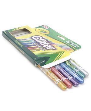 Funskool Crayola Glitter Marker - Pack Of 8