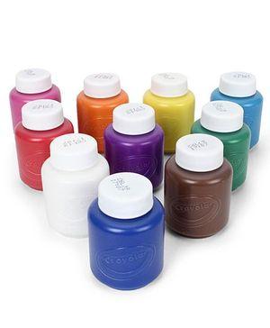 Funskool Crayola 10 CT Washable Paint Set - Multicolor