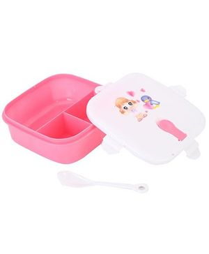 Lunch Box With Spoon