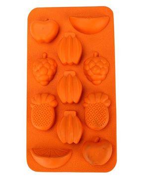 Fruit Mold Ice Tray - Orange