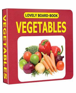 Lovely Board Book - Vegetables