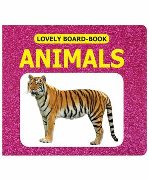 Lovely Board Book - Animals