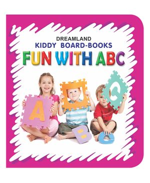 Kiddy Board Book - Fun With ABC