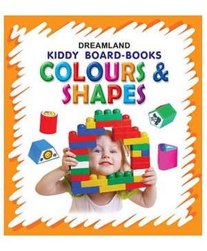 Kiddy Board Book  -  Colours & Shapes