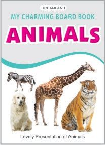 My Charming Board Book - Animals